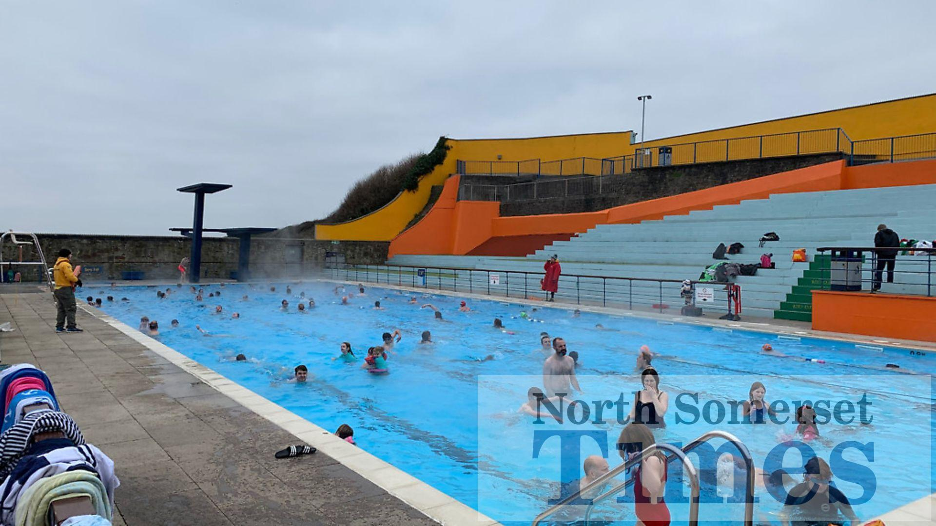 Portishead Open Air Pool to open for heated half-term ...