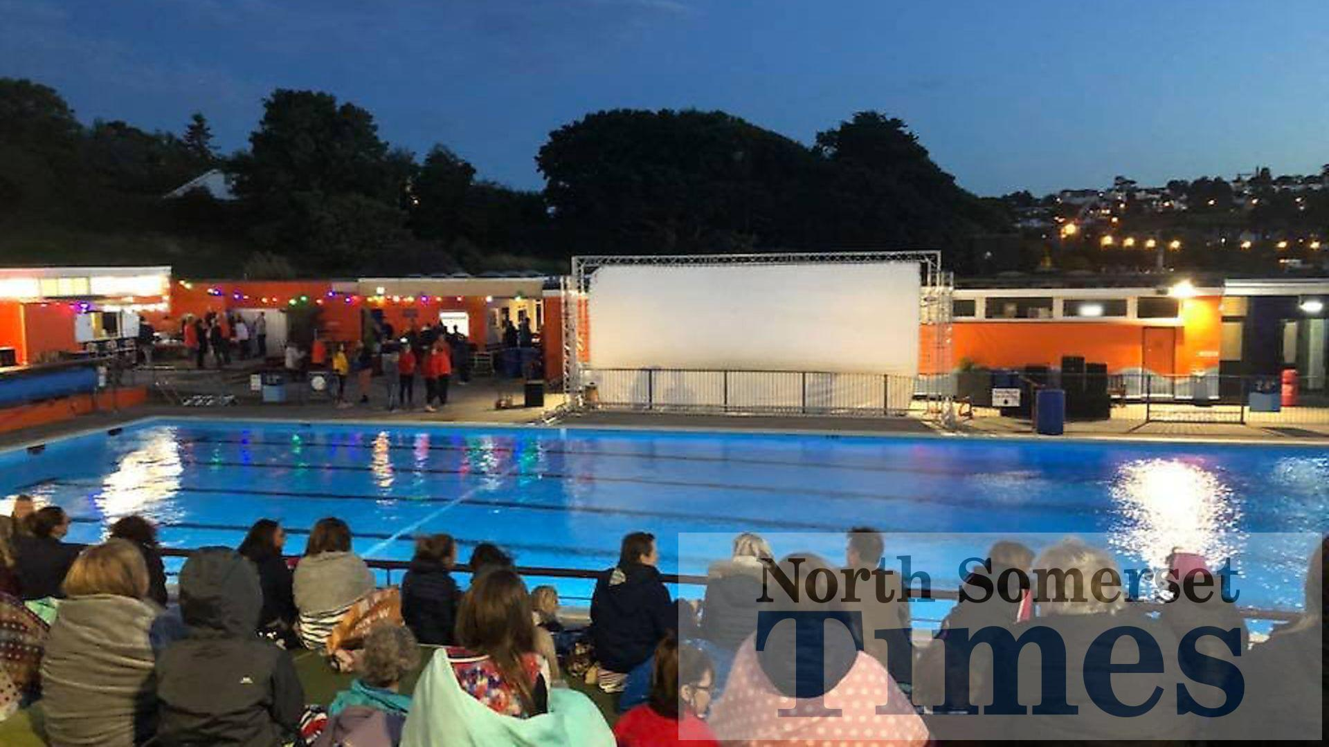 Portishead Open-Air pool to become cinema | North Somerset ...